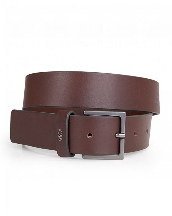 Giove Smooth Leather Belt