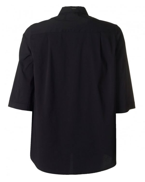 Oversized Cotton 3/4 Sleeved Shirt