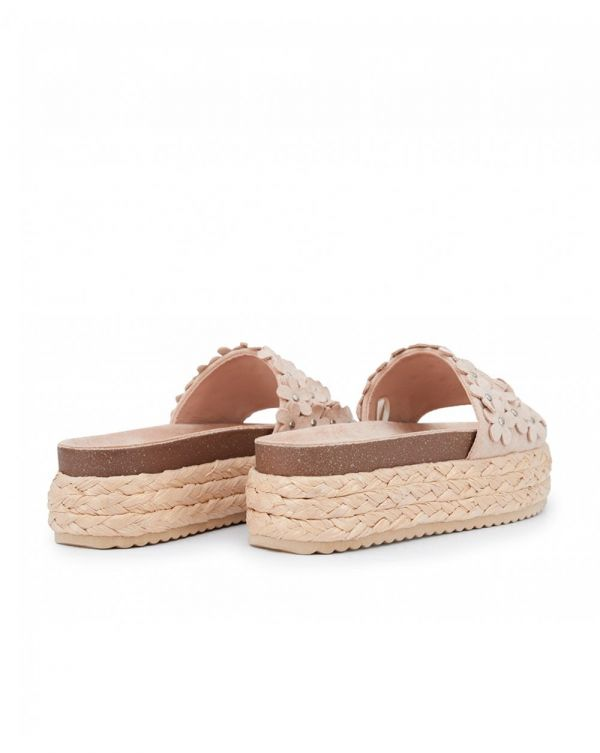 Flower Detail Platform Sliders