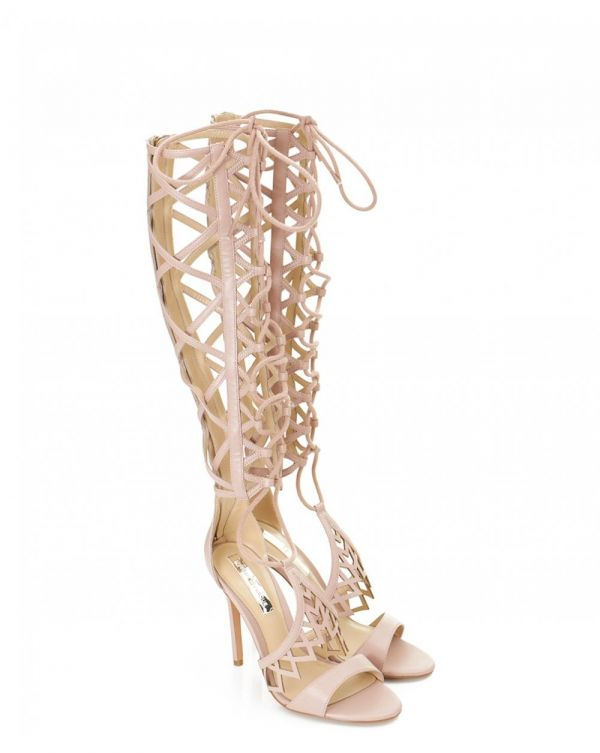 Parker Lace Up Leg Stiletto