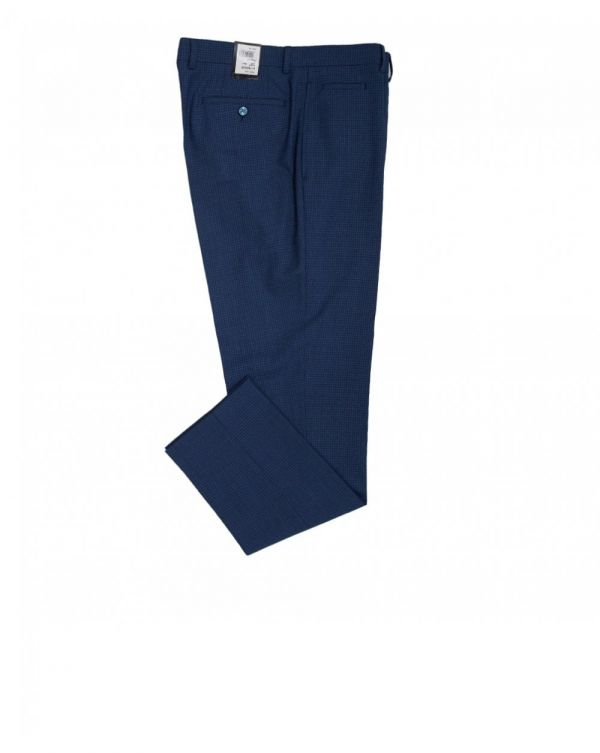Puppytooth Check Trousers