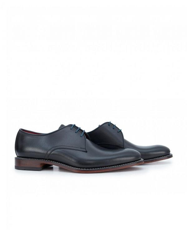 Drake Welted Plain Front Derby Shoes