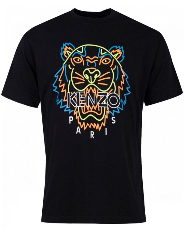 Icons Classic Neon Tiger Crew T-shirt