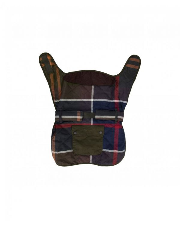 Quilted Tartan Dog Coat