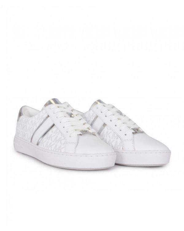 Irving Mk Logo Trainers