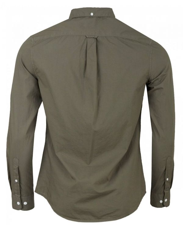 Farley Long Sleeved Poplin Shirt