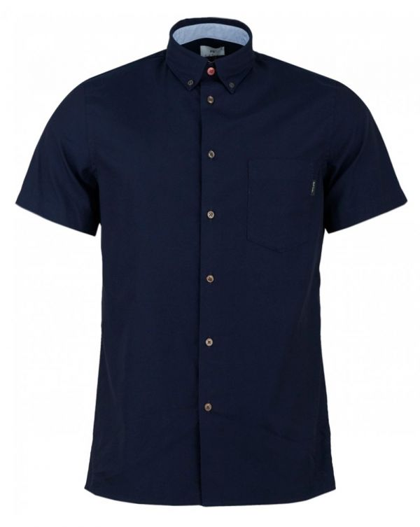 Button Down Short Sleeved Oxford Shirt