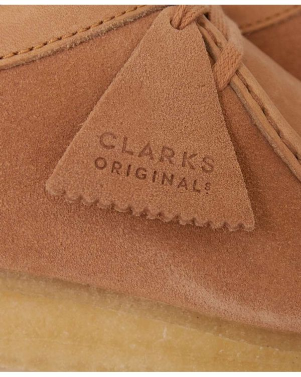 Leather Suede Wallabee Shoes