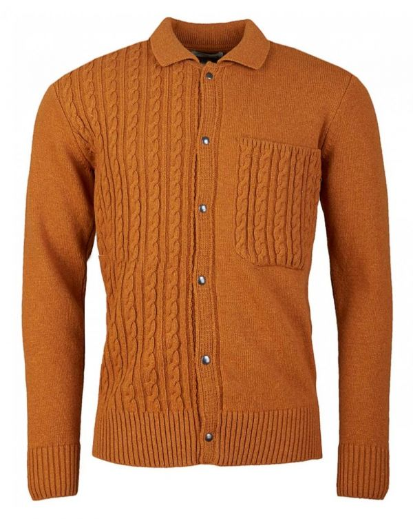 Roxwell Knitted Cable Knitted Jacket