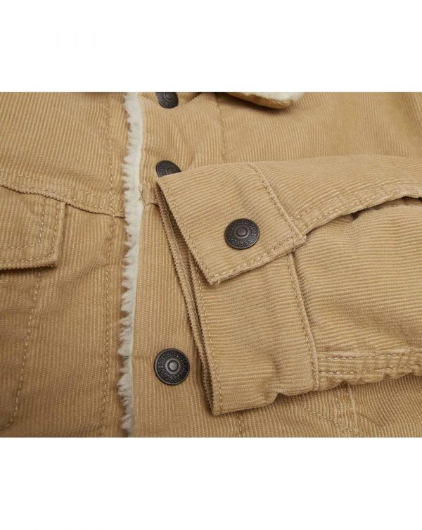 Type 3 Cord Sherpa Trucker Jacket