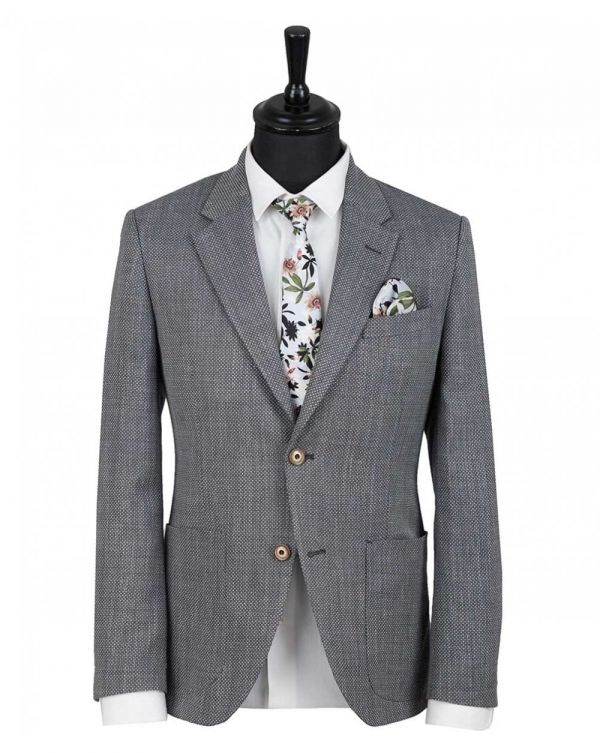 Basketweave Blazer