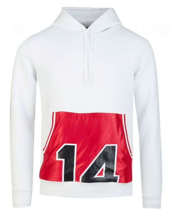 Vintage Basketball Patch Hoody