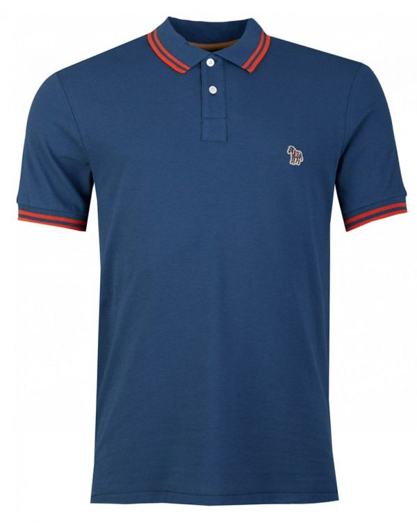 Short Sleeved Supima Cotton Tipped Polo