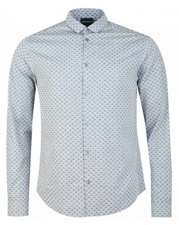 All Over Eagle Long Sleeved Shirt