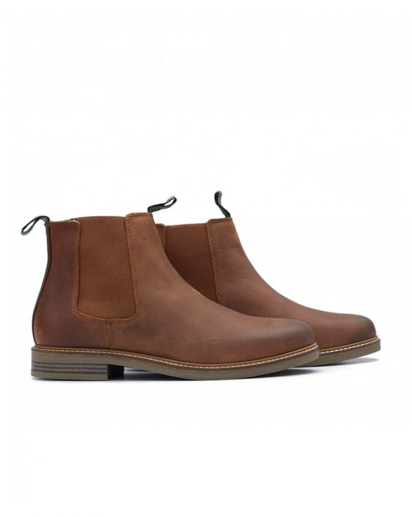 Farsley Leather Chelsea Boots