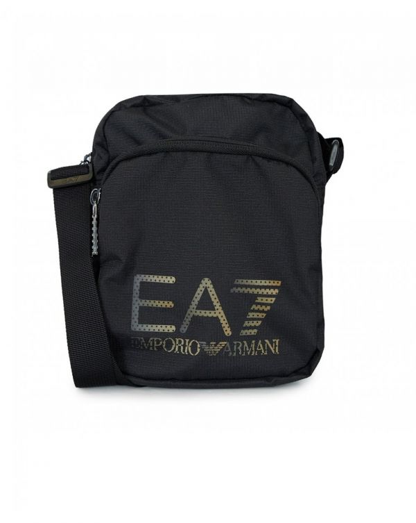 Train Prime Metallic Logo Pouch Bag