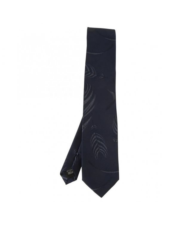 Self Patterned Silk Tie