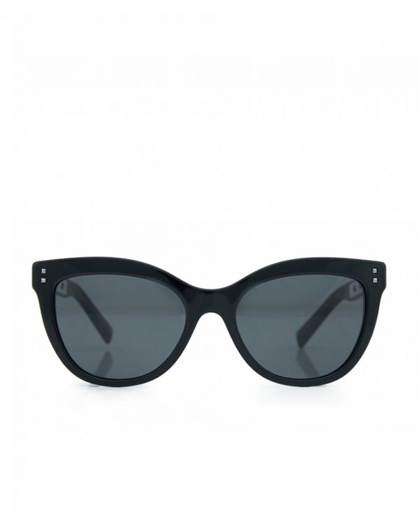 Studded Arm Medium Sunglasses