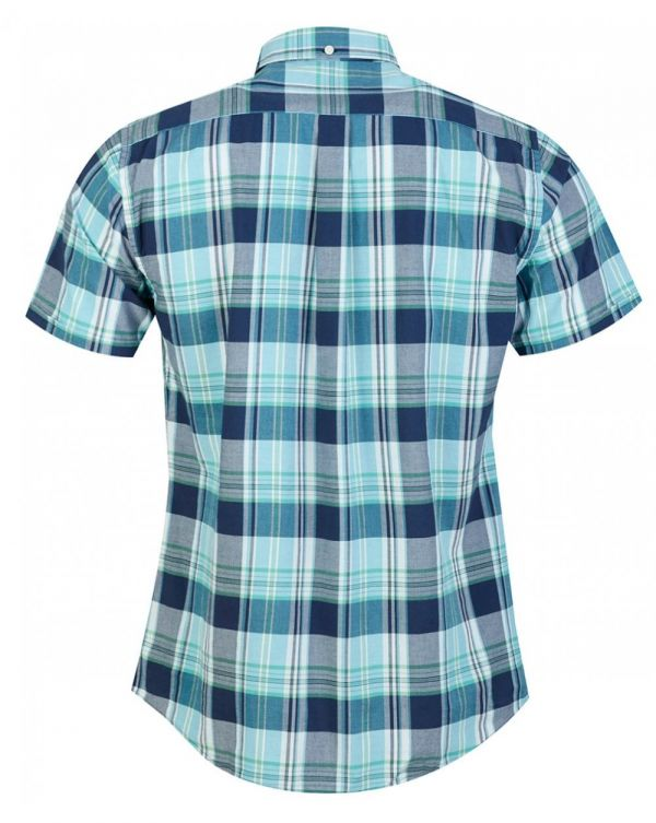 Madras 5 Short Sleeved Check Shirt