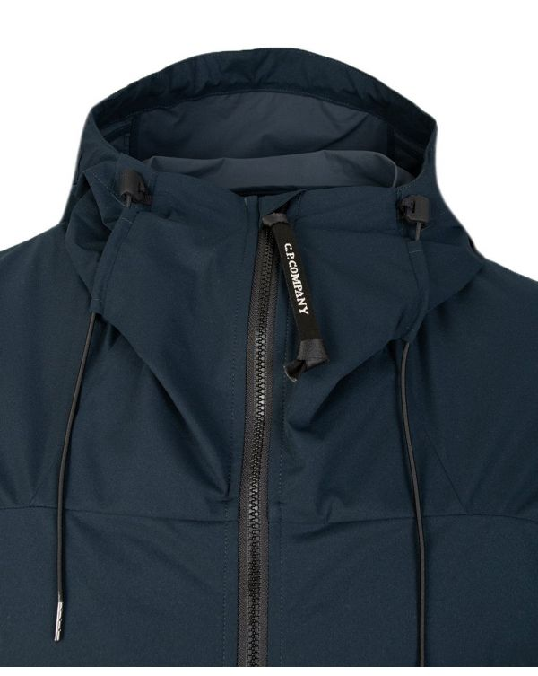 Arm Lens Hooded Jacket