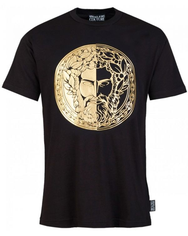 Slim Fit Foil Head Logo T-shirt