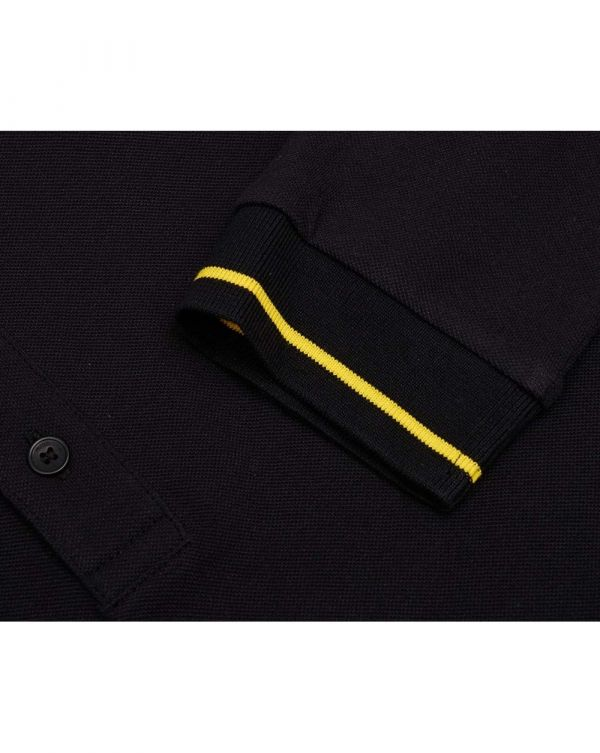 Donol Long Sleeved Tipped Polo Shirt