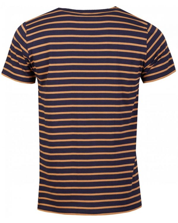 Striped Short Sleeved Crew Neck T-shirt