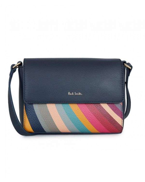 Colour Block Swirl Crossbody Bag