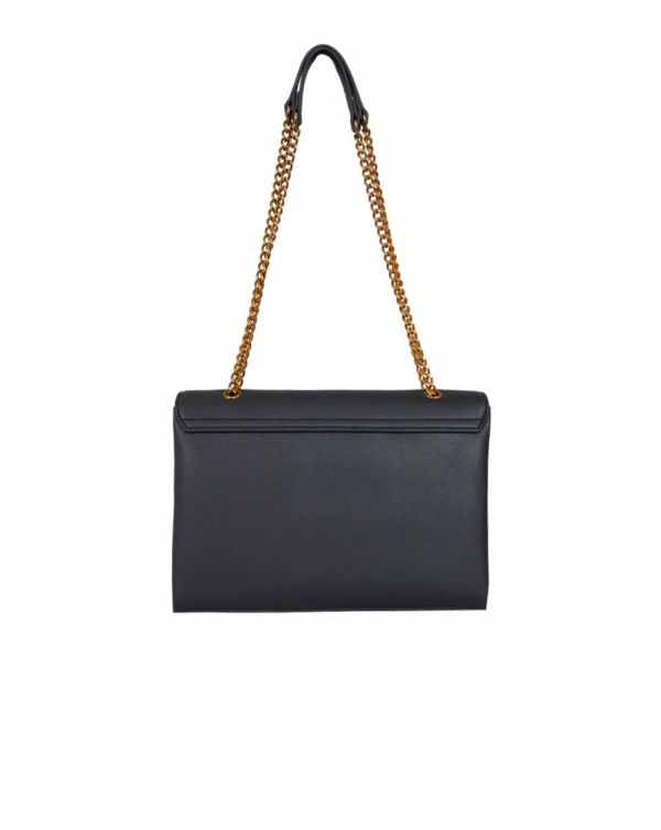 Letter Logo Chain Shoulder Bag
