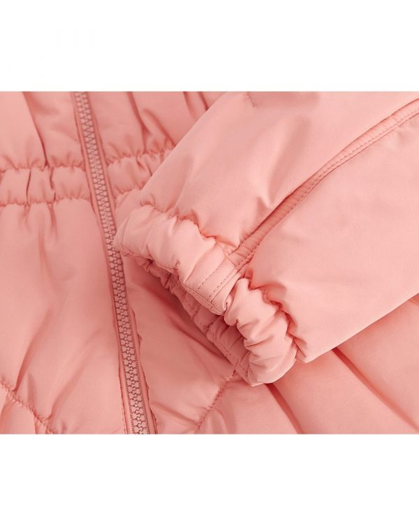 Nylon Quilted Short Coat