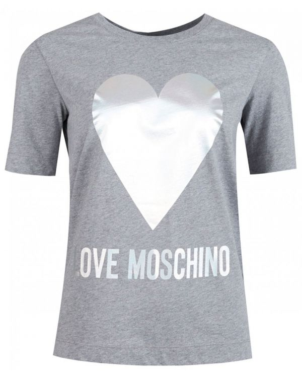 Metallic Heart Logo T-shirt