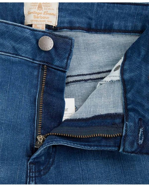 Fell Cropped Raw Edge Jeans