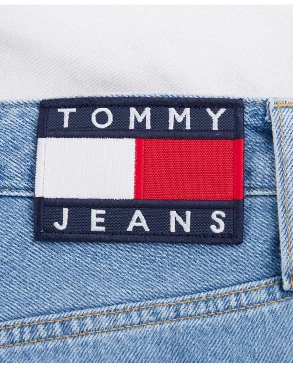Tommy Flag Denim Skirt