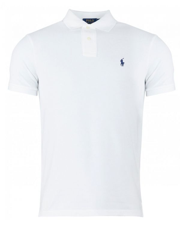 Short Sleeved Slim Fit Mesh Polo