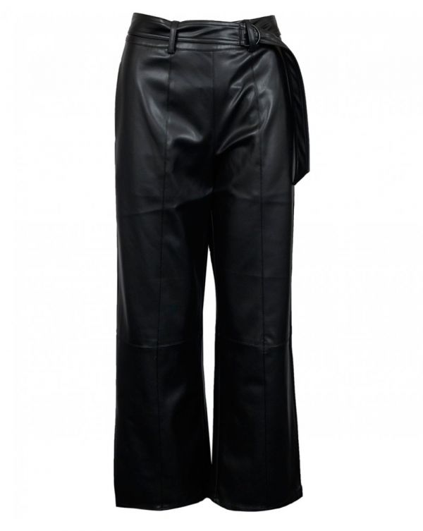 Silvian Heach Eco Friendly Leather Trousers