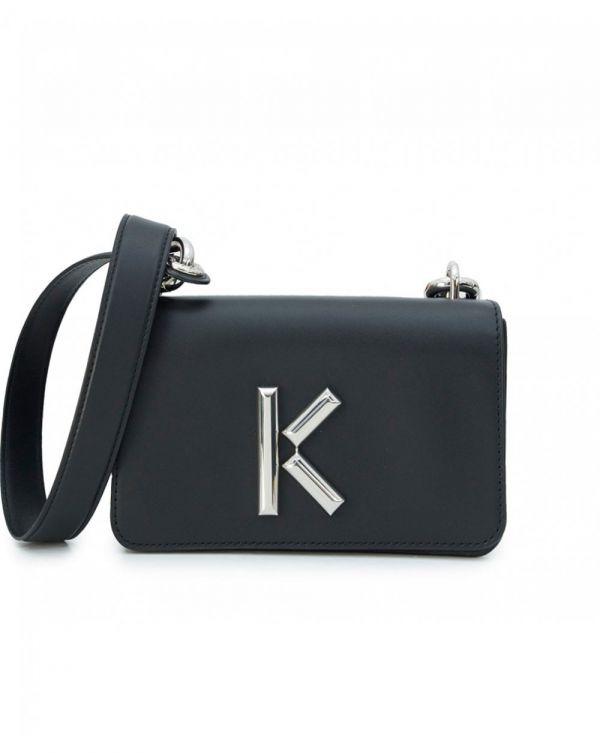Metal K Logo Crossbody Bag