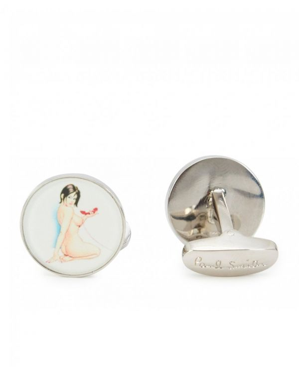 Naked Lady Cufflinks