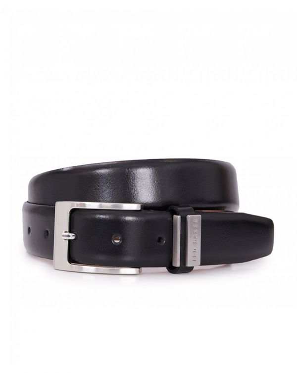 Logo Keeper Leather Belt
