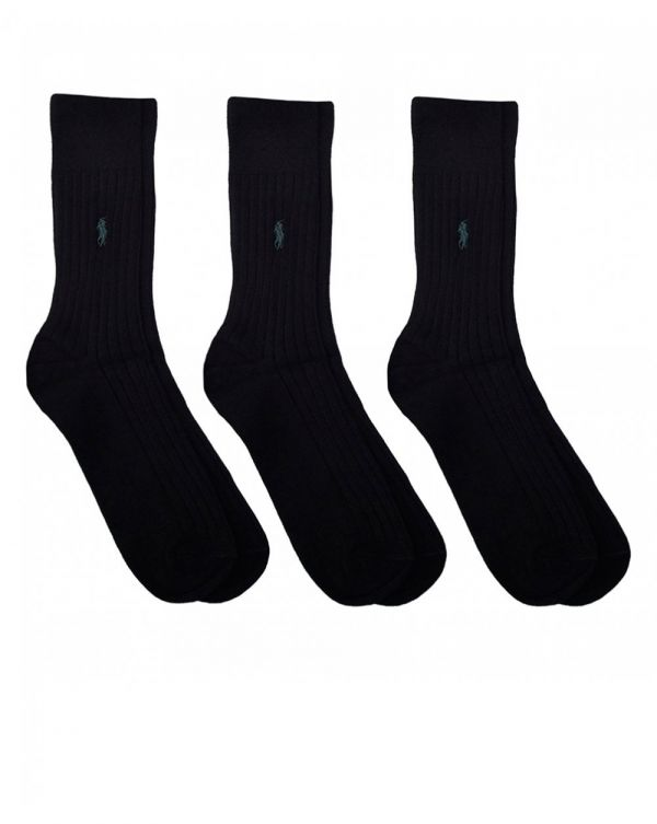 3 Pack Of Egyptian Cotton Socks