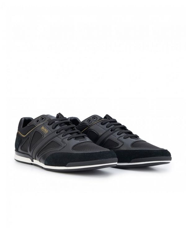 Saturn Leather Mix Trainers
