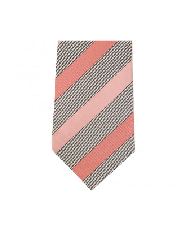 Mixed Stripe Diagonal Tie