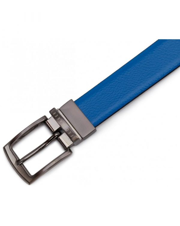 Queue Reversible Leather Belt