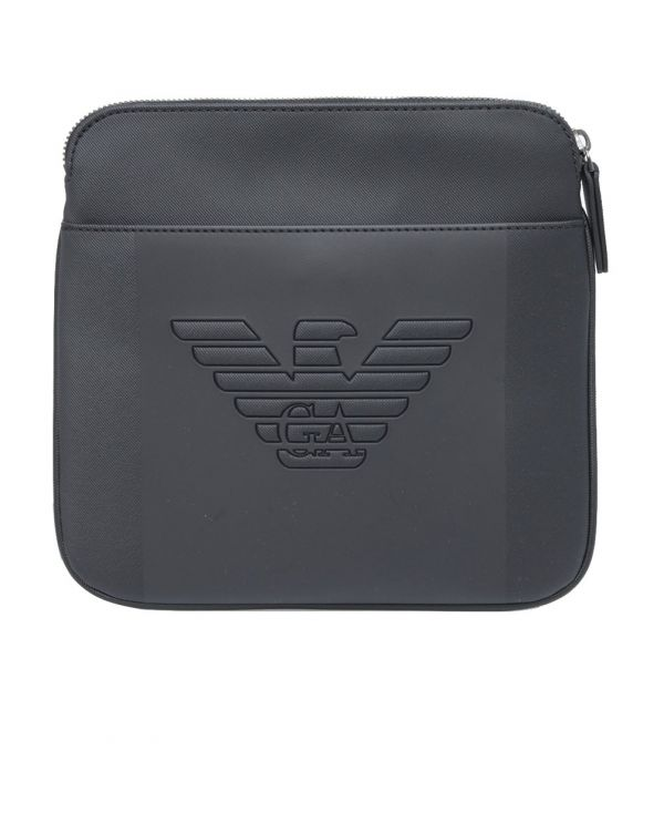 Embossed Eagle Cross Body Pouch Bag