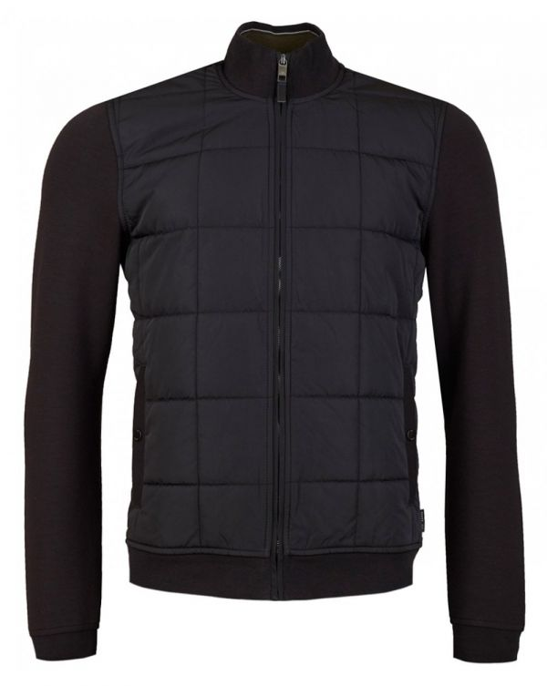 Quilted Front Jacket