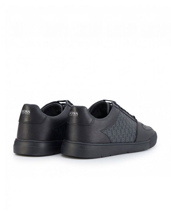 Cosmo Leather Hb Logo Trainers