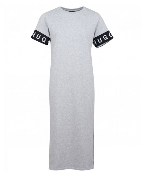 Naepe Logo Arm Jersey Midi Dress