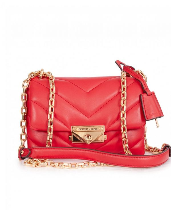 Cece Chevron Quilted Crossbody Bag