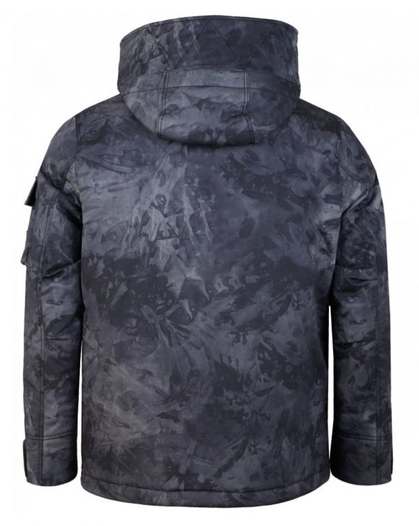 Orbir Camo Hooded Parka