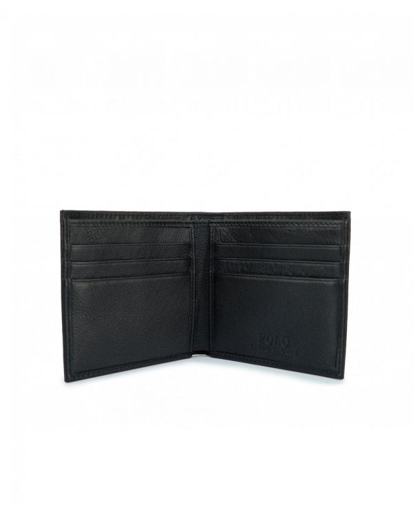 Smooth Leather Billfold Wallet