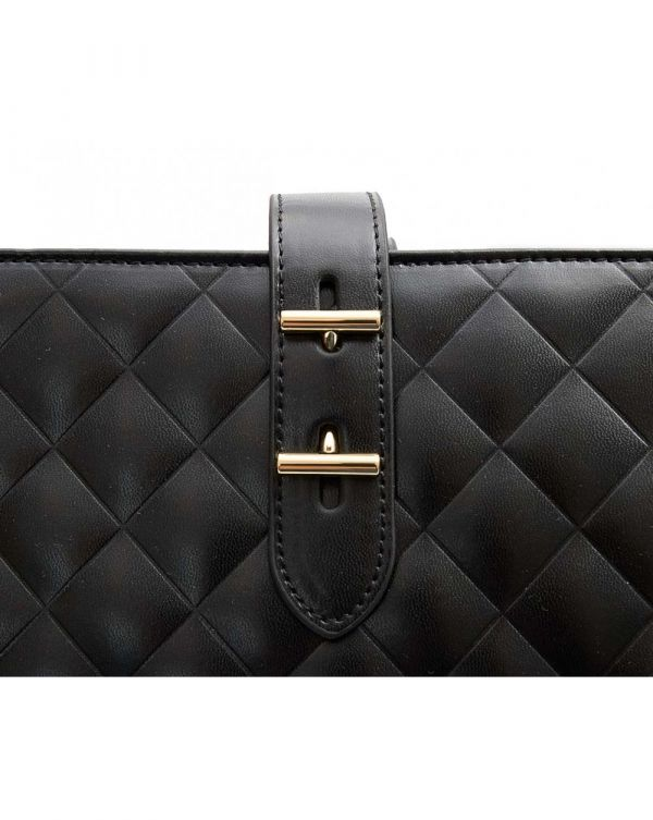 Quilted Logo Large Shopper
